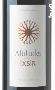 Ixsir Altitudes - Ixsir - 2016 - Rouge
