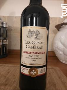 Les Ormes de Cambras - Cabernet Sauvignon - Ormes de Cambras - 2018 - Rouge