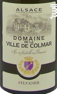 Sylvaner - DOMAINE VITICOLE DE LA VILLE DE COLMAR - 2016 - Blanc