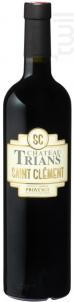 Saint-Clément - Château Trians - 2018 - Rouge