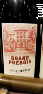 Grand Prèbois - Famille Perrin - 2015 - Rouge