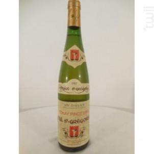 Pinot Gris Val Saint-Grégoire - Cave de Turckheim - 1997 - Blanc