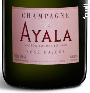 Rosé Majeur Brut - Champagne Ayala - Non millésimé - Effervescent