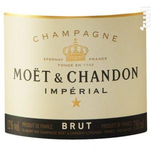 Impérial Brut - Moët & Chandon - Non millésimé - Effervescent