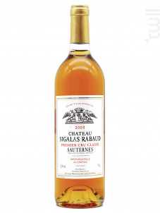 Château Sigalas Rabaud - Château Sigalas Rabaud - 2003 - Blanc