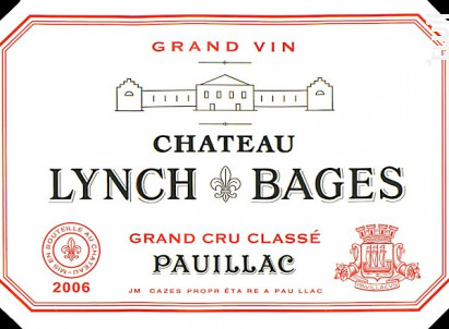 Château Lynch-Bages - Château Lynch-Bages - 2011 - Rouge