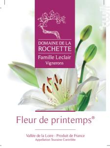 Fleur de Printemps - Domaine de la Rochette - 2018 - Rouge