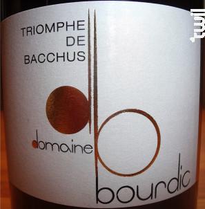 Triomphe de Bacchus - Domaine Bourdic - 2013 - Rouge