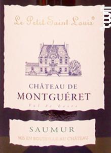 Petit Saint Louis - Château de Montguéret - 2016 - Blanc