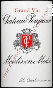 Château Poujeaux - Château Poujeaux - 2017 - Rouge