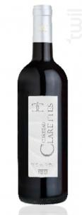 Clarettes Rouge - Château Clarettes - 2017 - Rouge