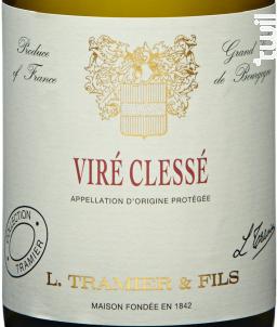 Viré-Clessé - Maison L. Tramier et Fils - 2015 - Blanc