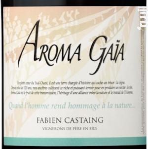 Aroma Gaia - VIGNOBLES FABIEN CASTAING - 2018 - Rouge
