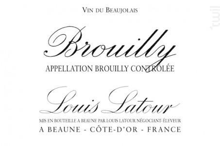 Brouilly - Maison Louis Latour - 2016 - Rouge