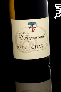 PETIT CHABLIS AOC - Domaine Guillaume Vrignaud - 2019 - Blanc