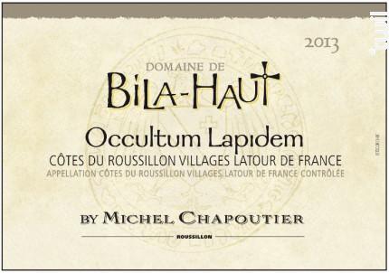 Occultum Lapidem - Maison M.Chapoutier - Domaine de Bila-Haut - 2006 - Rouge