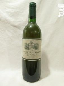 Domaine De L'engarran - Château de l'Engarran - 1995 - Blanc