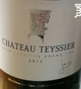 Château Teyssier - Château Pontet Teyssier - 2014 - Rouge