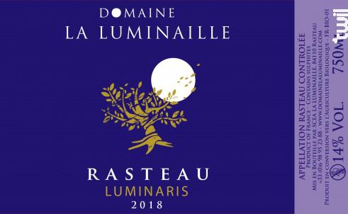 Rasteau Luminaris - Domaine la Luminaille - 2018 - Rouge