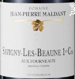 SAVIGNY LES BEAUNE 1er cru Les Fourneaux - Domaine Maldant Jean-Pierre - 2017 - Rouge