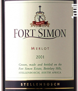 Merlot - Fort Simon - 2014 - Rouge