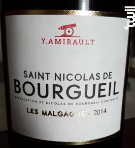 Les Malgagnes - Domaine Yannick Amirault - 2017 - Rouge
