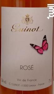 Rosé - Maison Guinot depuis 1875 - 2017 - Rosé