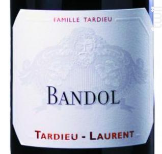 Bandol - Maison Tardieu Laurent - 2013 - Rouge