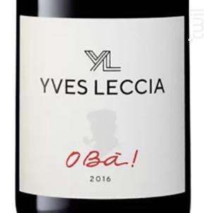 O Bà - Yves Leccia - 2017 - Rouge