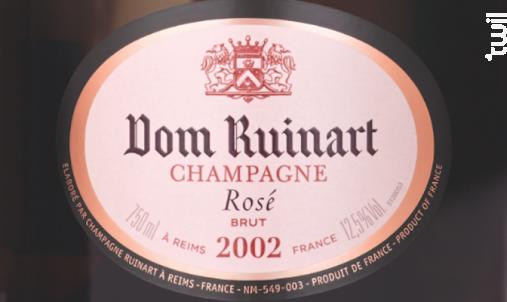 Dom Ruinart Rosé Brut Millésimé - Ruinart - 2007 - Effervescent