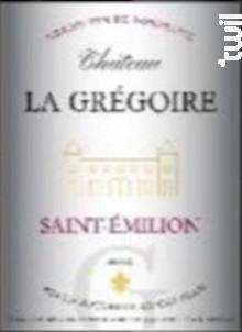 Château La Gregoire - Château La Gregoire - 2015 - Rouge