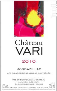Château Vari - Château Vari - 2010 - Blanc