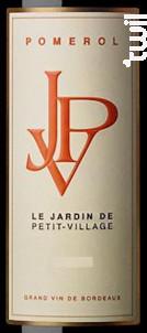 Jardin de Petit-Village - Château Petit-Village - 2014 - Rouge