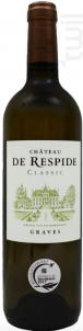 Chateau De Respide - Château de Respide - 2018 - Blanc