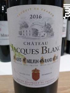Château Jacques Blanc - Château Jacques Blanc - 2016 - Rouge