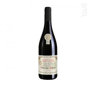 Côtes-du-Rhône - Héritage Cavare - 2012 - Rouge