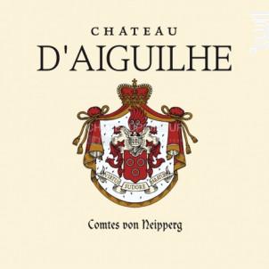 Château d'Aiguilhe - Vignobles Comtes Von Neipperg - 2017 - Rouge