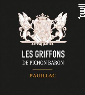 Les Griffons de Pichon Baron - Château Pichon Baron - 2017 - Rouge