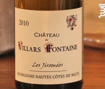 Les Jiromées Grande Tradition - Château Villars-Fontaine - 2010 - Blanc