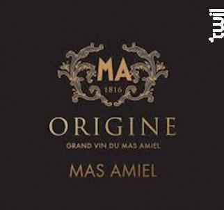 Origine - Mas Amiel - 2016 - Rouge