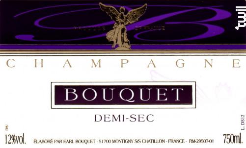 Demi-Sec - Champagne Bouquet - Non millésimé - Effervescent