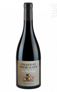 La Sauvage - Chateau Pech-latt - 2019 - Rouge