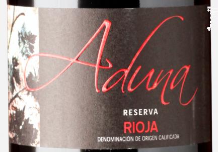 Heredad de Aduna Reserva - Heredad de Aduna - 2009 - Rouge