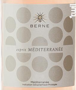Esprit Méditerranée - Château de Berne - 2017 - Rosé