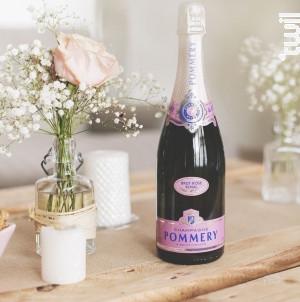 Brut Rosé - Champagne Pommery - Non millésimé - Effervescent