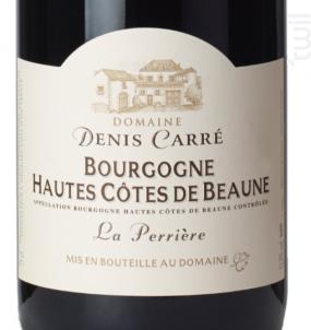 Bourgogne Hautes-Côtes-de-Beaune - Domaine Denis Carré - 2015 - Rouge