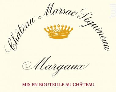 Château Marsac Séguineau - Château Marsac Séguineau - 2013 - Rouge