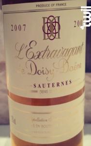 L'Extravagant de Doisy-Daëne - Denis Dubourdieu Domaines - 2007 - Blanc