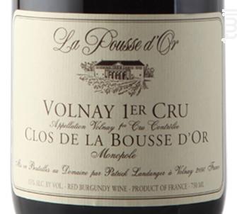 Volnay Premier Cru Clos de La Bousse d'Or Cuvée Amphore - Domaine de la Pousse d'Or - 2016 - Rouge