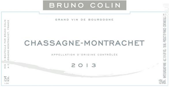 Chassagne-Montrachet - Domaine Bruno Colin - 2017 - Blanc